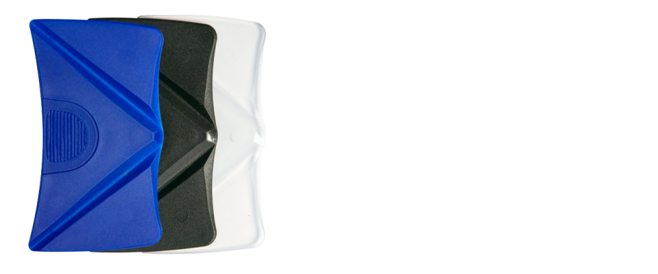Works with all silicone sealants and fillers